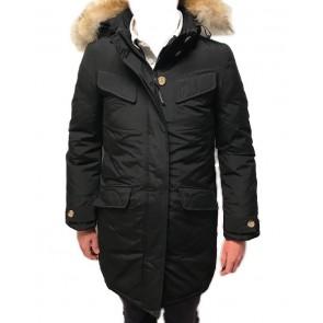 Woolrich Down Parka Winterjas Dames Zwart - Maat M