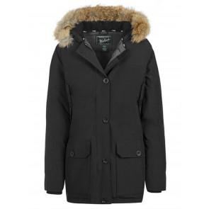 Woolrich Arctic Parka Winterjas Dames Zwart - Maat L
