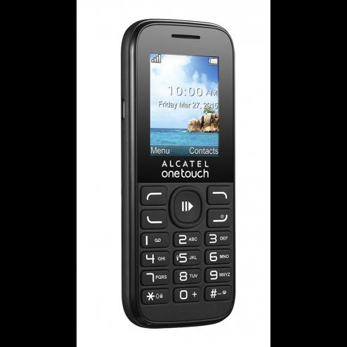 Alcatel 10.52 - Vodafone Prepaid - Zwart