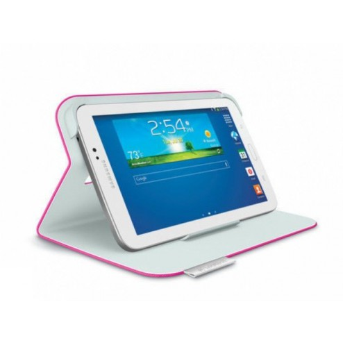 Folio for Samsung Tab 3 7i Fantasy Pink