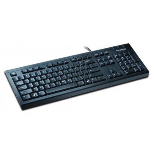Kensington ValuKeyboard - Azerty-toetsenbord - Zwart | Let op: Frans/Belgische toetsindeling