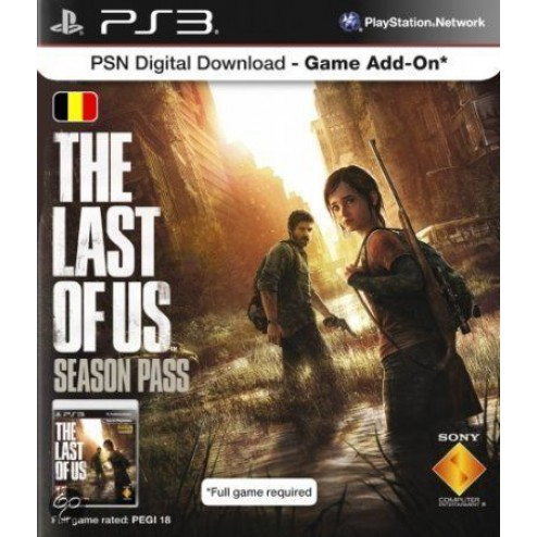 PlayStation Network Voucher Card: The Last Of Us Season Pass Belgie  | PS3