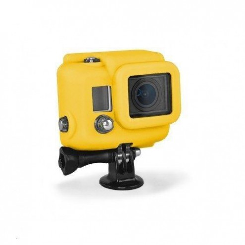 Xsories Silicone Cover voor action cam - Geel