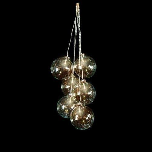 Luca Lighting - Hangende ballen met LED verlichting - Werkt op ...