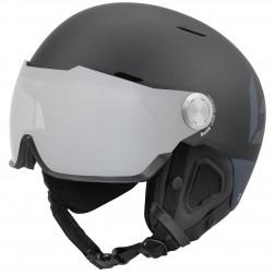 Bollé Might Visor Premium Matte Black & Grey / Photochromic Lens - Maat S - 52-55 cm - Skihelm Unisex