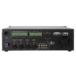 Artsound MX-240S - 5-zone mengversterker - 100V - 19 - 3U - 240W