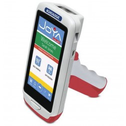 Joya Touch Basic 911350024, 2D, WLAN, NFC, Gun, Rood, Grijs, WEC 7