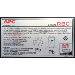 APC Replacement Battery Cartridge #24 - UPS-batterij Loodzuur