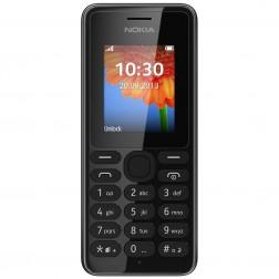 Nokia 108 - Vodafone Prepaid - Zwart | Zonder simkaart