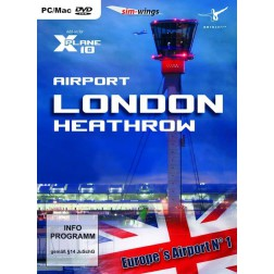 Airport London-Heathrow (FS X + X-Plane 10 Add-On) (DVD-Rom) - Windows
