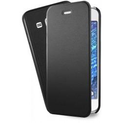 Azuri booklet ultra thin PU leder voor Huawei P8 Lite - zwart