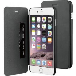 BeHello Flip Cover voor Apple iPhone 6/6S Plus - Zwart