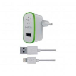 Belkin oplader met USB 3.0/Micro B kabel voor de Galaxy S5/Note 3/TabPRO 12.1/NotePRO 12.1 - Wit