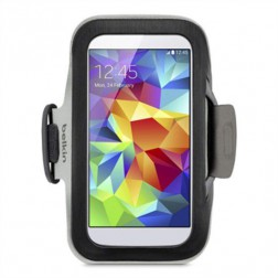 Belkin SlimFit Sportarmband voor Samsung Galaxy S4 / S5 - Zwart