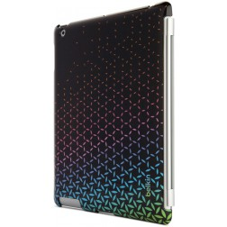 Belkin Snap shield remix cover voor iPad 2, 3, 4 - Zwart