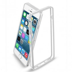 Case-Mate Tough Frame Bumper hoesje voor iPhone 6 - transparant/wit