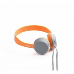 Coloud Knock - On-ear koptelefoon - Grijs/Oranje