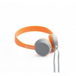 Coloud Knock - On-ear koptelefoon - Grijs/Oranje
