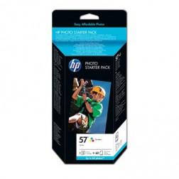 HP 57 + 60 - Fotopakket / Inktcartridge / Cyaan / Geel / Magenta (Q7942AE)