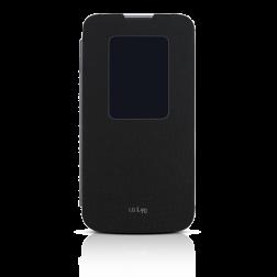 LG Quick Window flipcover voor LG L90 - Zwart
