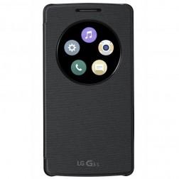 LG Snap on Quick window case - zwart - voor LG G3s