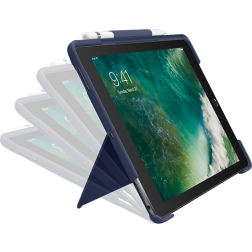 Logitech SLIM COMBO toetsenbord voor Apple iPad Pro 10.5 - Donkerblauw - Azerty | Let op: Frans/Belgisch toetsen-indeling