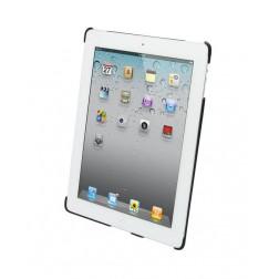 Melkco - leren Snap Cover voor iPad 2 - Zwart