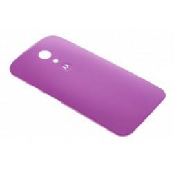 Motorola Moto G (2014) Back cover - Paars