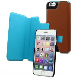 Muvit Magic Reverso Case voor iPhone 6 / 6S - Bruin