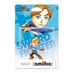 Nintendo amiibo Super Smash Figuur Mii Sword Fighter + Duck Hunt Duo  - Wii U + NEW 3DS