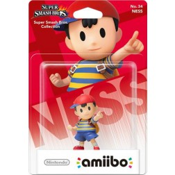 Nintendo amiibo Super Smash Figuur Mii Ness + Mr. Game & Watch  - Wii U + NEW 3DS