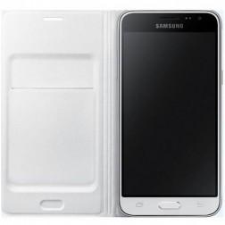 Samsung flip wallet - wit - voor Samsung Galaxy J1 2016