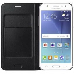 Samsung Flip Wallet voor Samsung Galaxy J5 (voor 2015 model) - Zwart