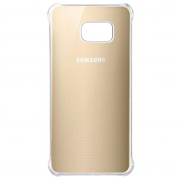 Samsung Glossy Cover voor Samsung Galaxy S6 edge Plus - Goud