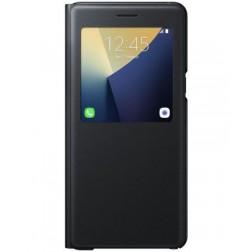 Samsung S View Standing Cover voor Samsung Galaxy Note 7 - Zwart