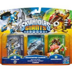 Skylanders Giants: Battle Pack Chop Chop, Shroomboom, Dragonfire Kanon