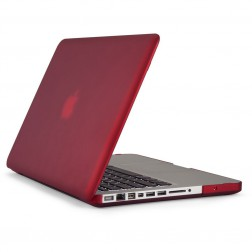 Speck Seethru - Laptop Cover / Hoes voor MacBook Pro 13 inch - Satin Pomodoro Red