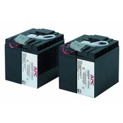 APC RBC55 Replacement Battery Cartridge #55 - UPS-batterij Loodzuur 2-cels