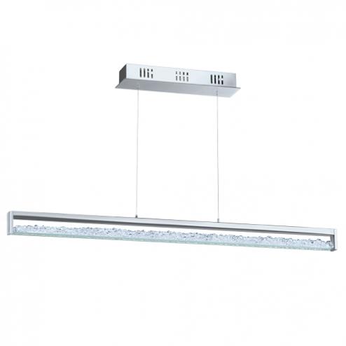 EGLO Cardito 1 - Hanglamp - Lengte 700mm. - Chroom - Kristal - Showmodel