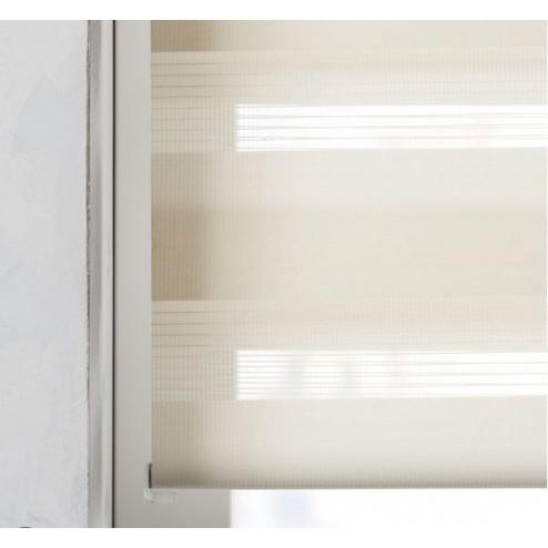 Pure Living - Duo Rolgordijn Lichtdoorlatend Beige - 60x175 cm