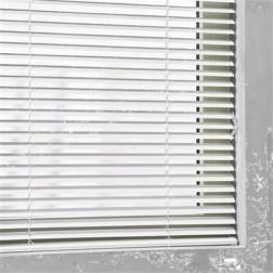 Pure Living - 25 mm Aluminium Jaloezie White - 110x250 cm