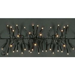 CBD Cluster verlichting LED - 2,4 m - Zwart snoer - Fris wit