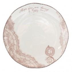 Djooz Ontbijtbord - Ø 21 cm - Wit