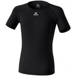 Erima Support Shortsleeve - Onderhemd - Unisex - Maat XXS - Zwart