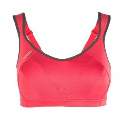 ShockAbsorber Active Multi Support - Sportbeha - Donker Rose - 90E